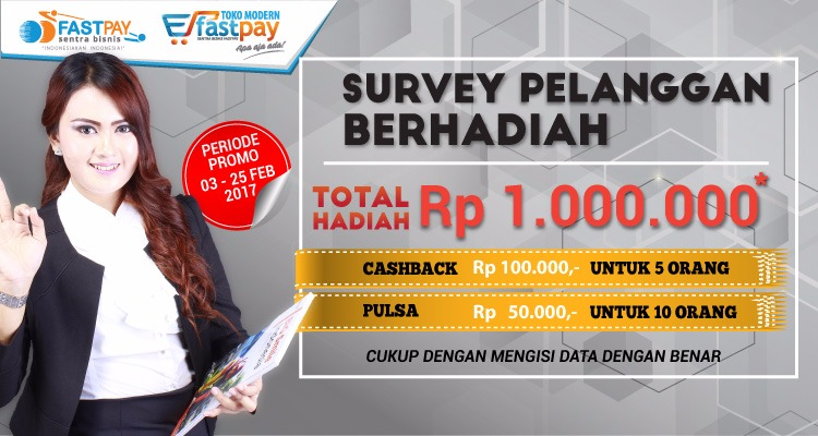 survey mitra sbf berhadiah